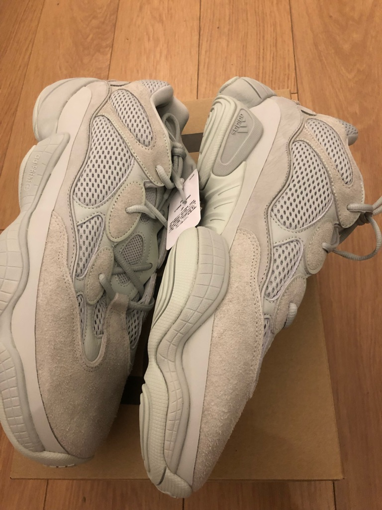 Brand New Yeezy 500 Salt
