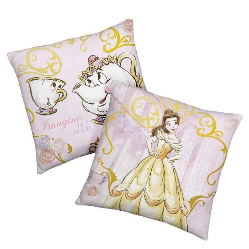 Beauty and The Beast twosided cushion