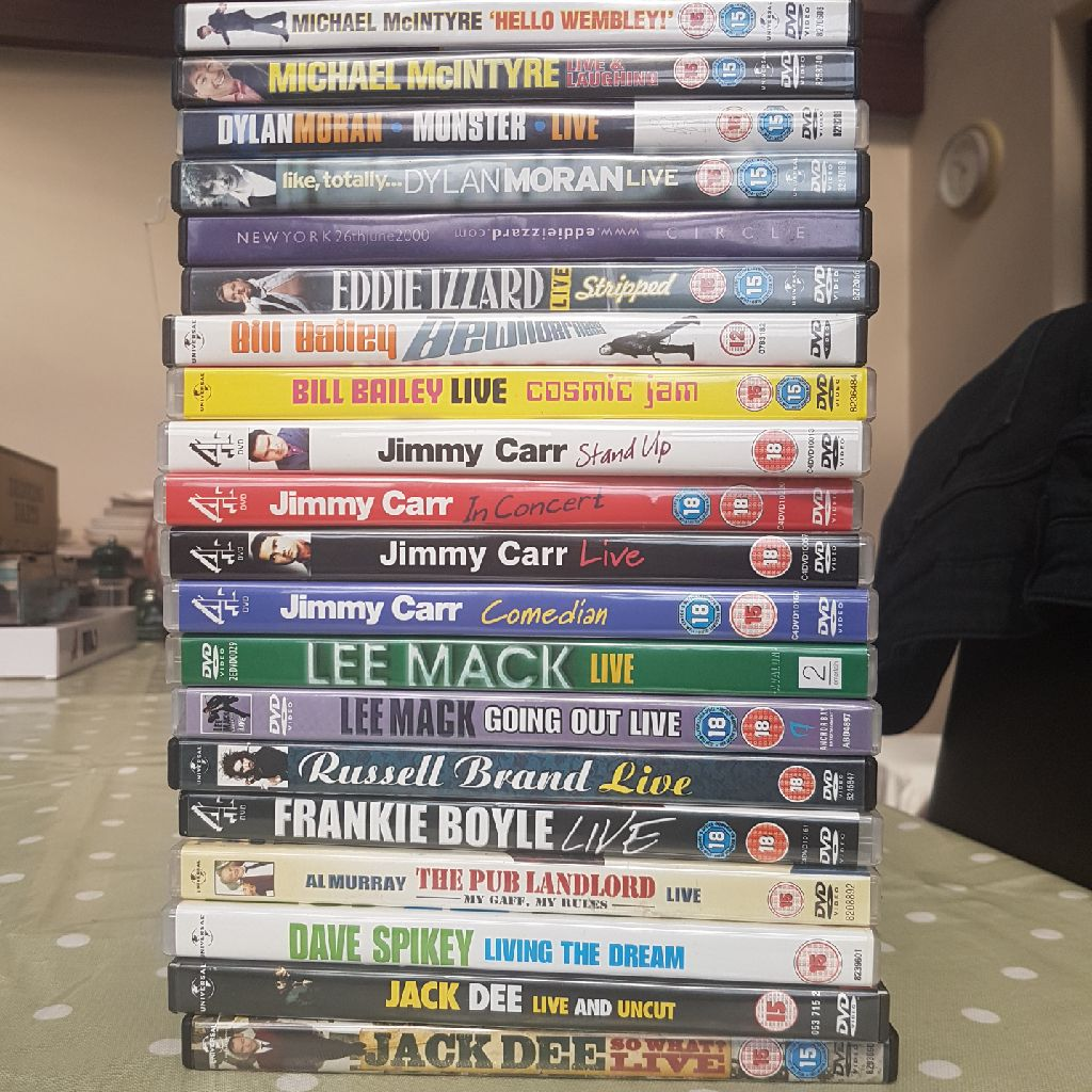 Standup Comedy DVDs