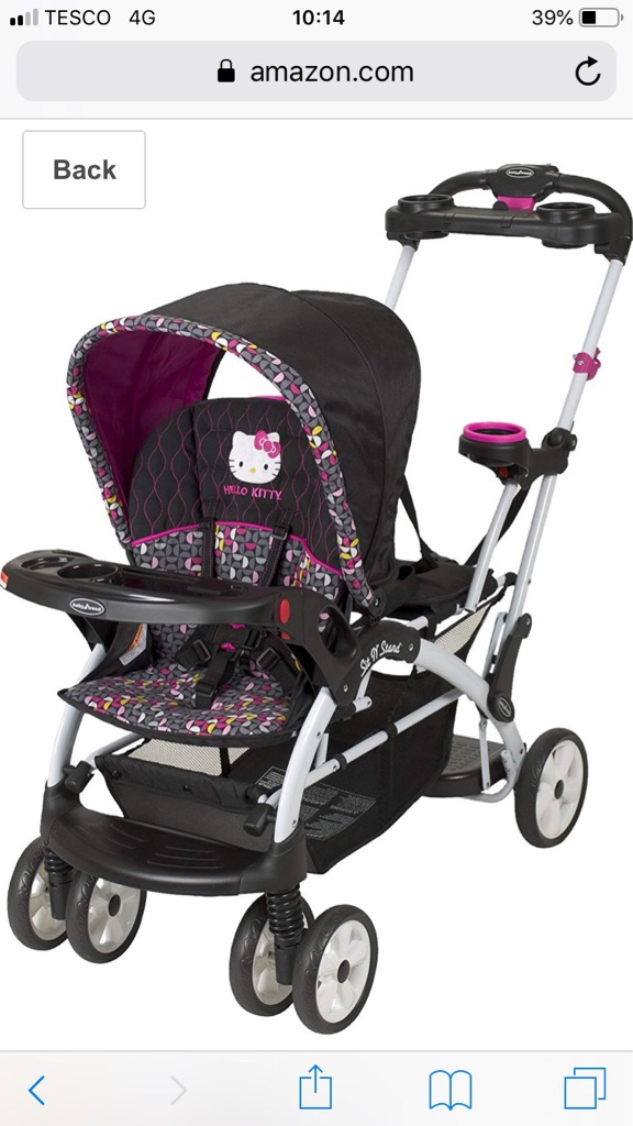 Baby Trend Sit and stand buggy