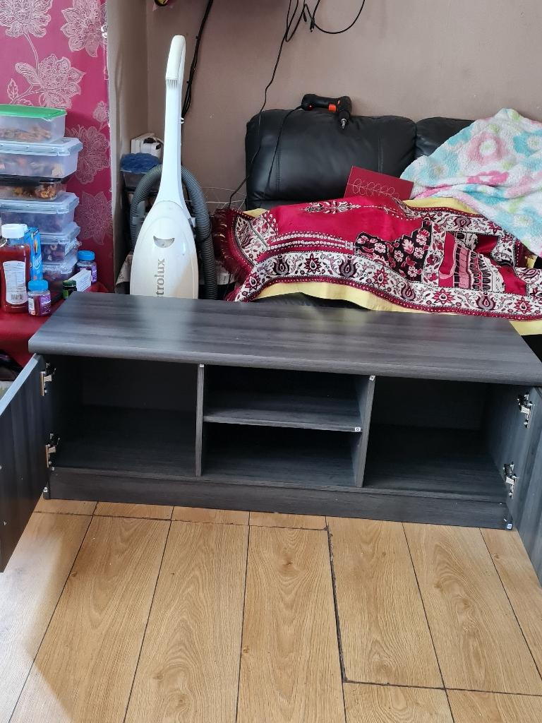 New gray TV unit £125
