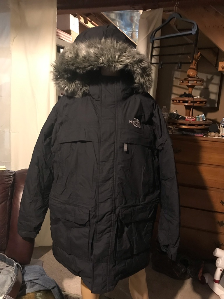 The North Face Military McMurdo Hooded Quilted Goosedown Jacket