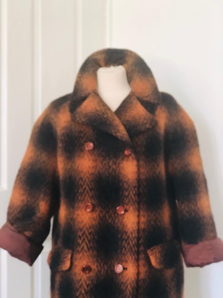 Women's brown vintage coat by Virgo size 16