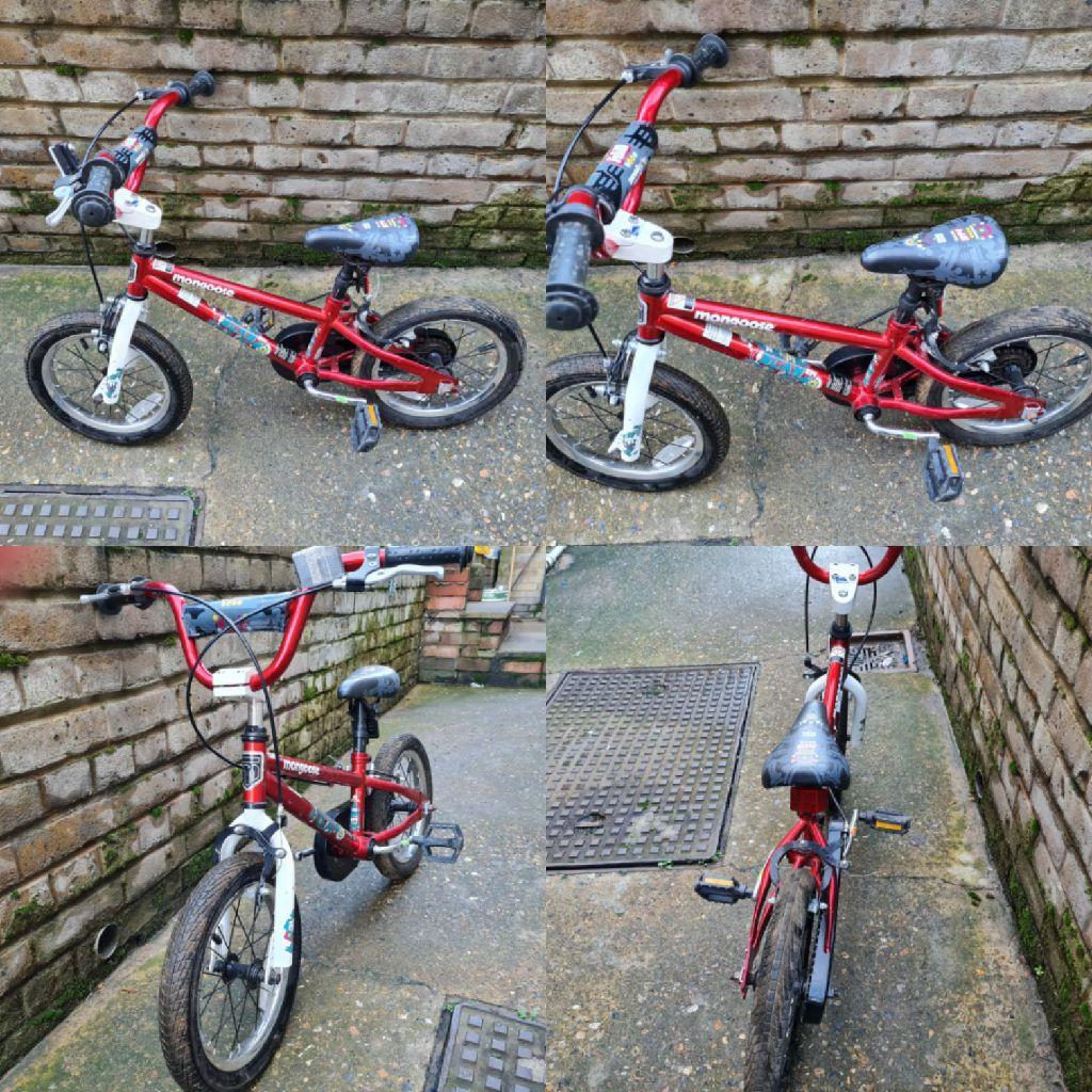 Childrens Mongoose bike (3-5 yrs)