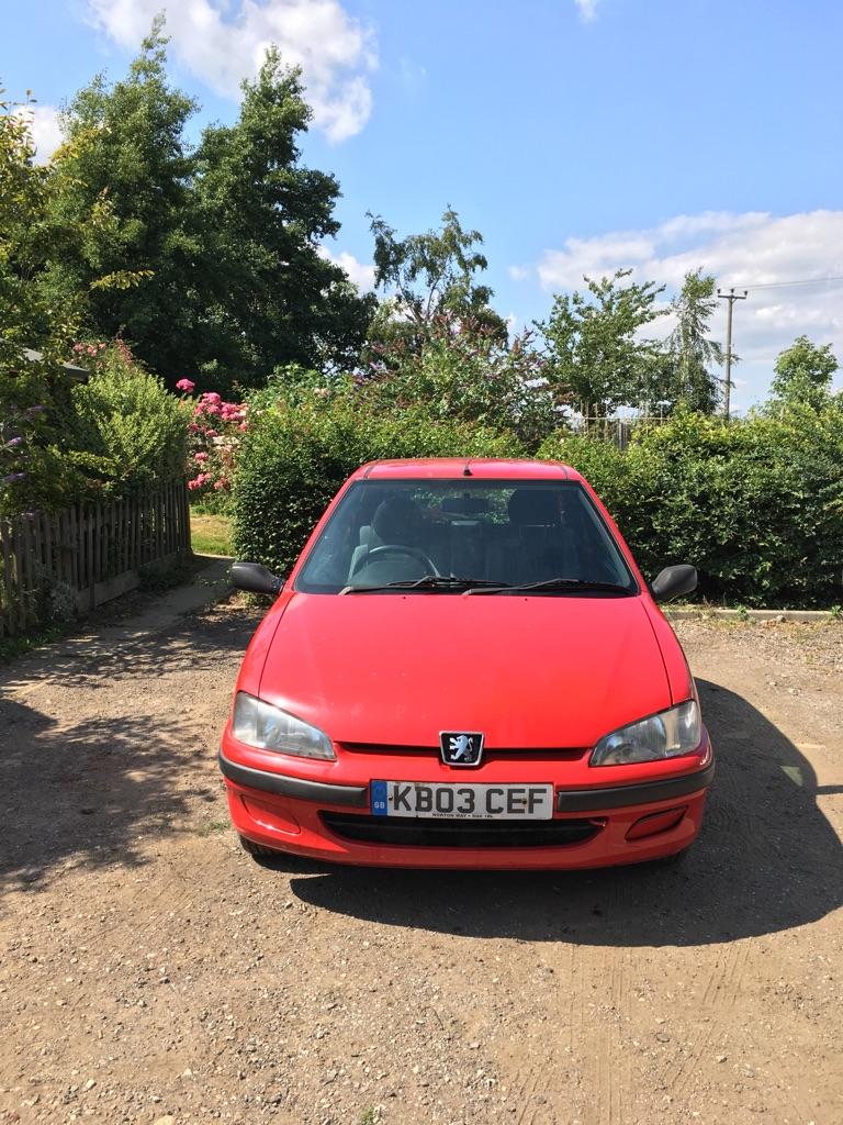 Peugeot 106- MOT until April 2020