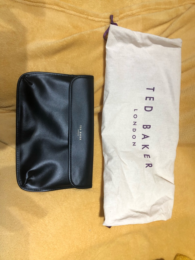 Genuine ted baker clutch bag