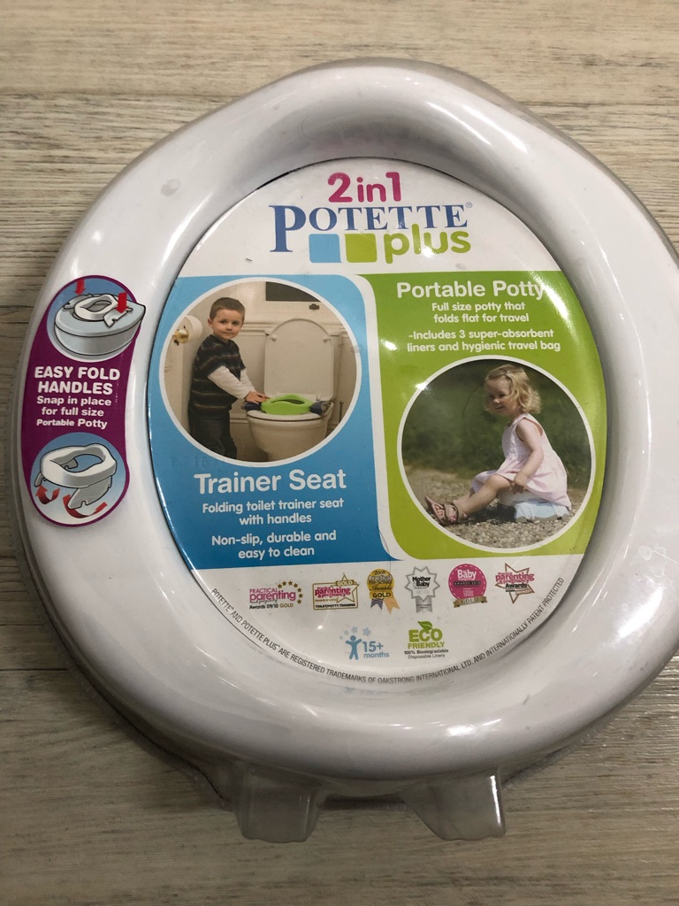 Potette Plus and Liners