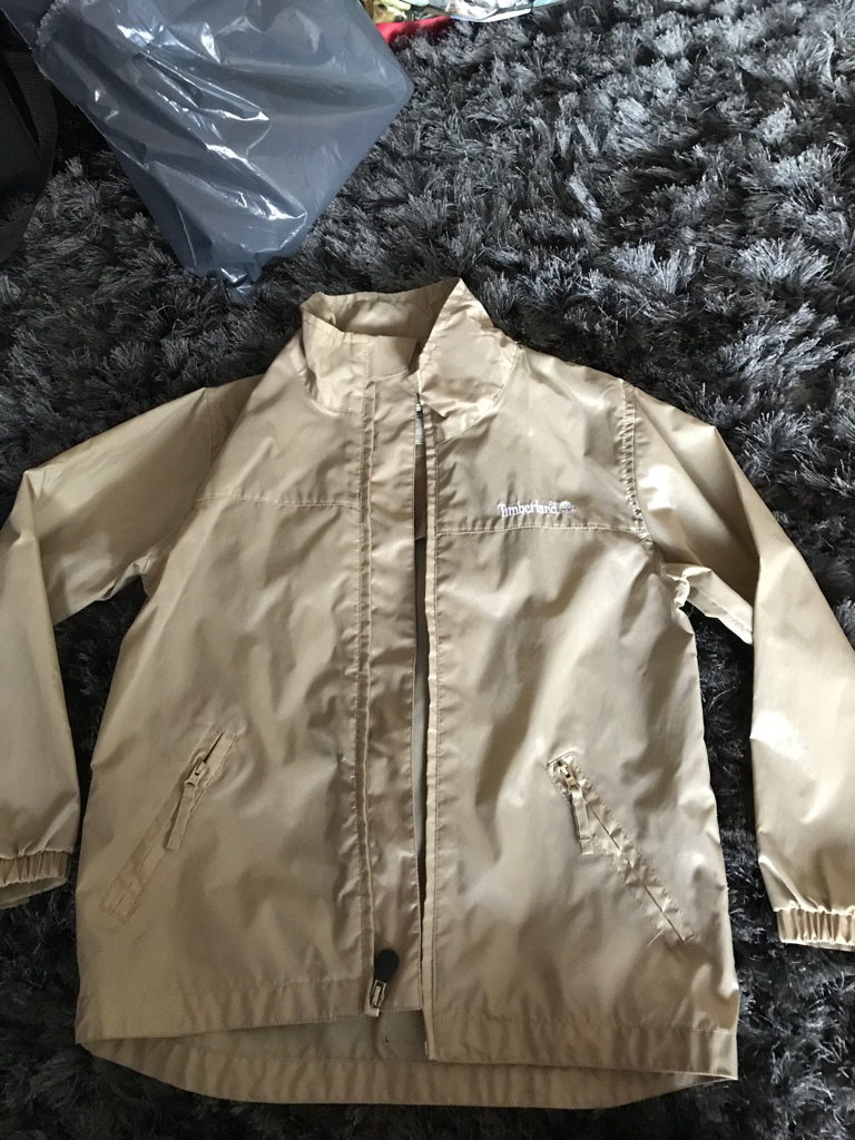 Boys Timberland Shower Proof Jacket