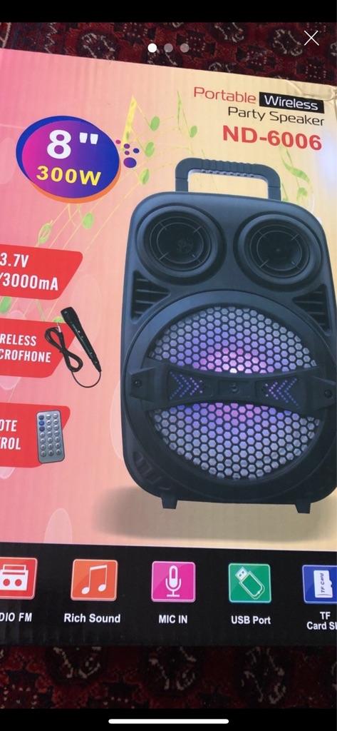 Wireless loudspeaker
