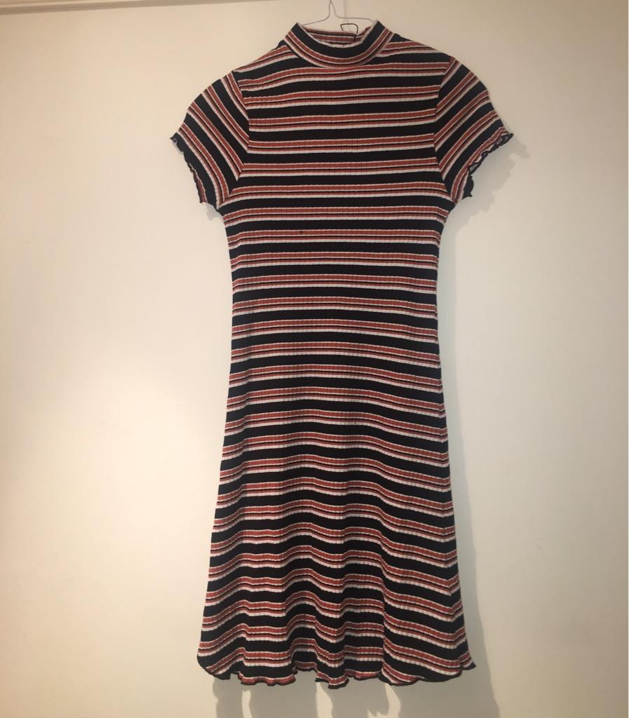 Size 8 stripy dress