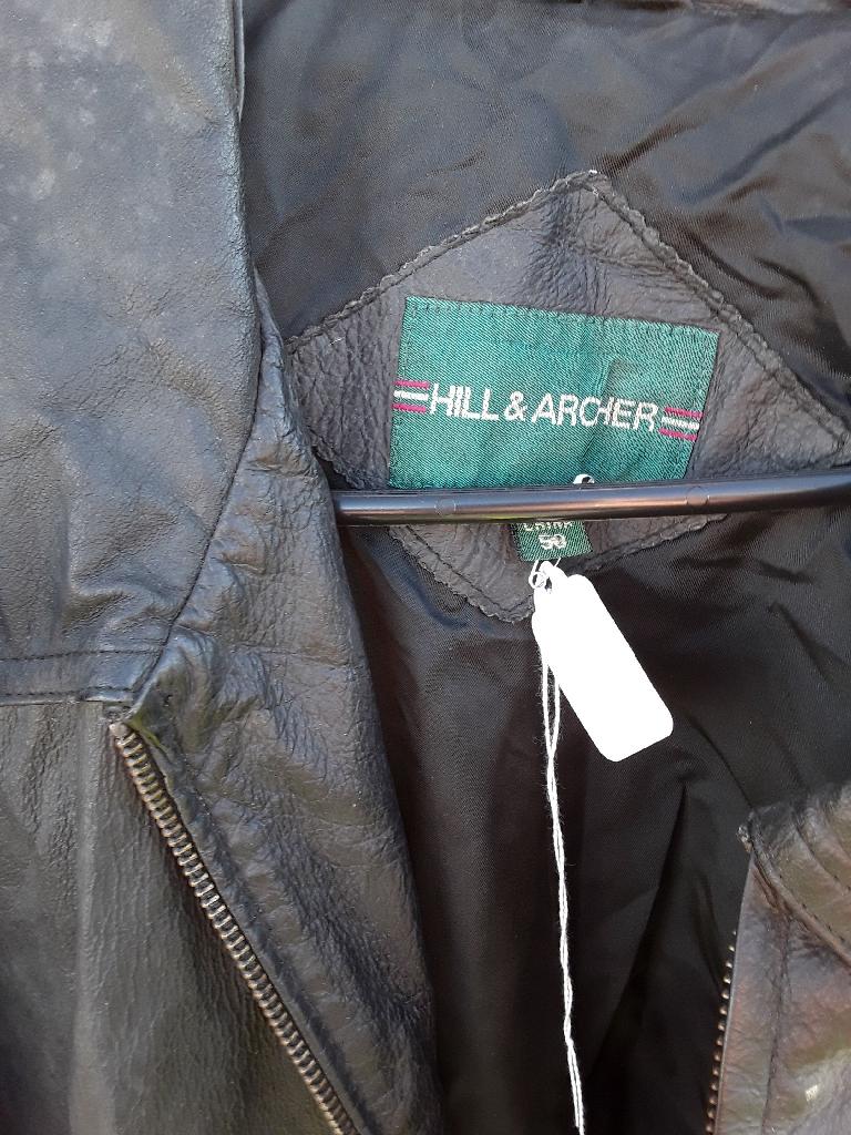 Mens size 50 Leather Jacket