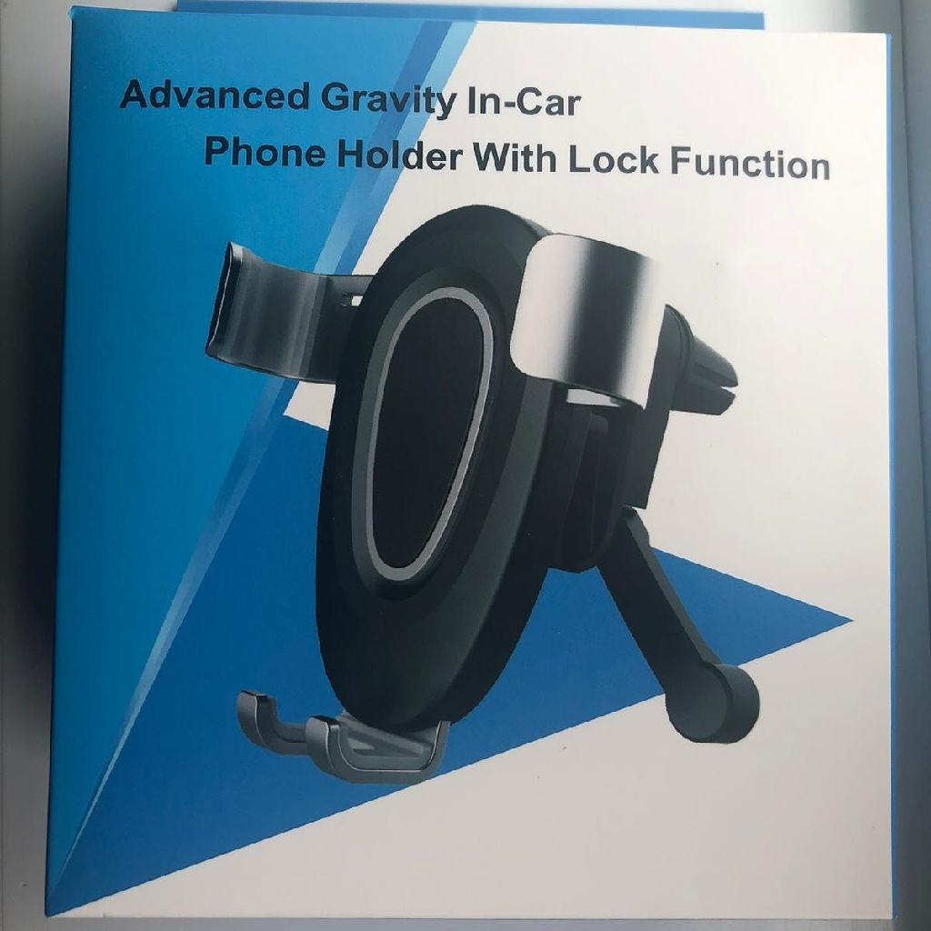 Advanced Gravity in-car Phone Holder with lock Functions