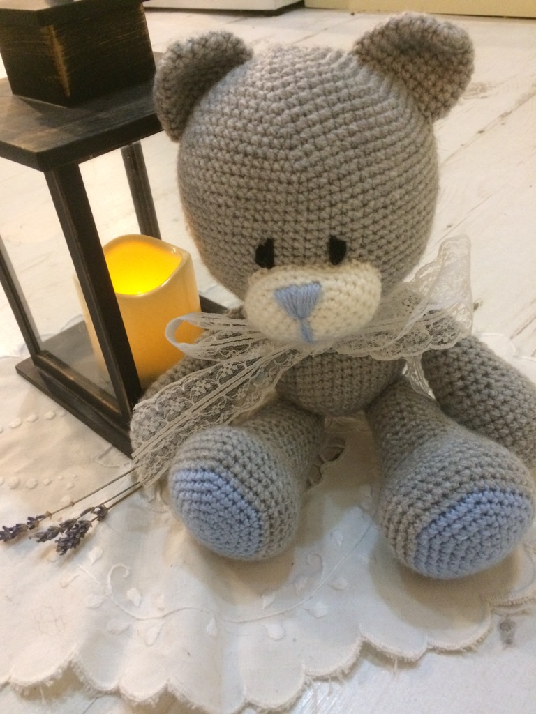 Pattern for teddy bear