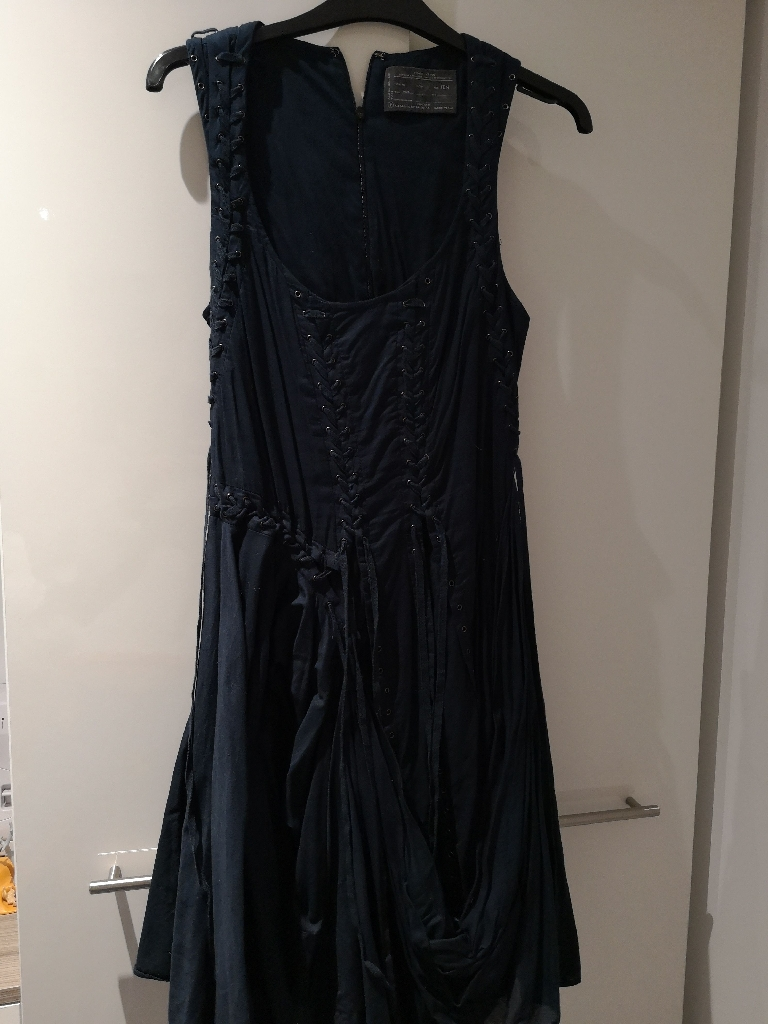 All Saints Navy Dress Size 10