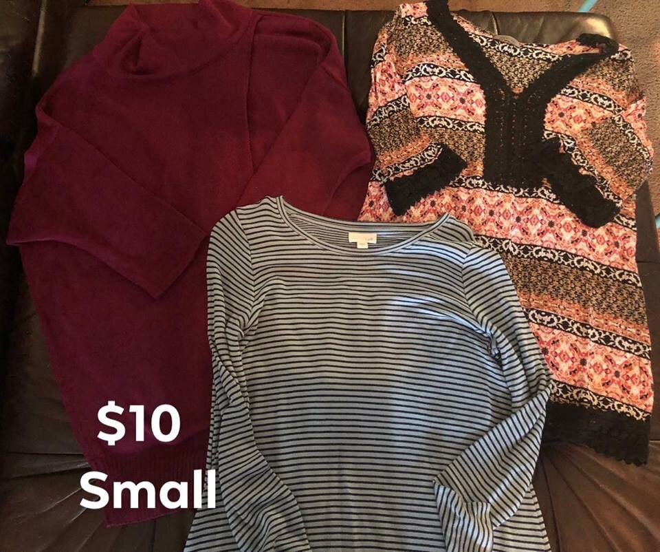 Women's Small Clothes