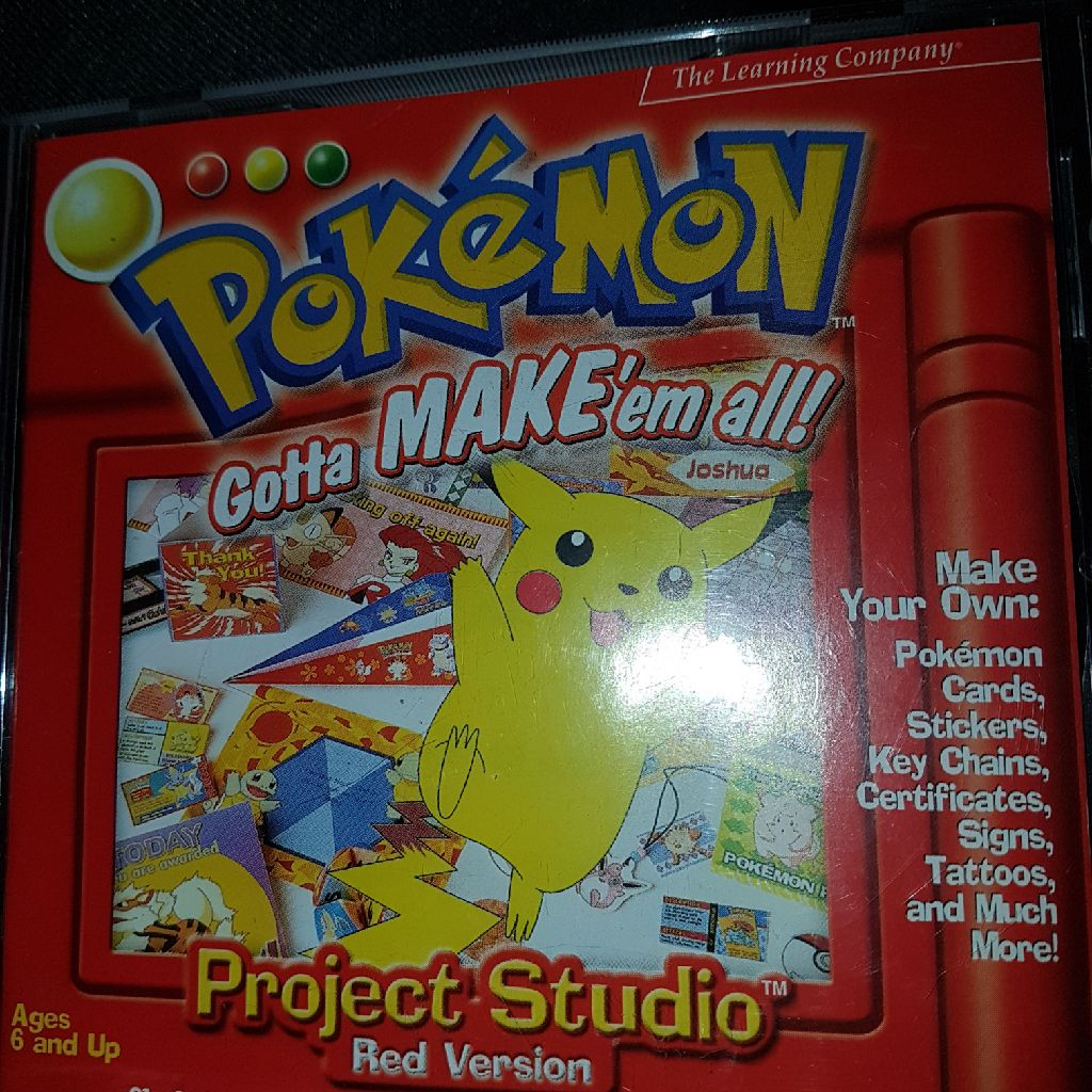 Pokemon red learning project
