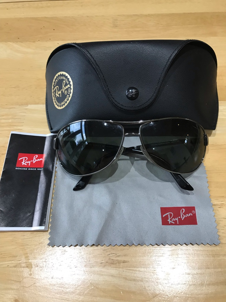 Genuine men's Ray-Ban sunglasses