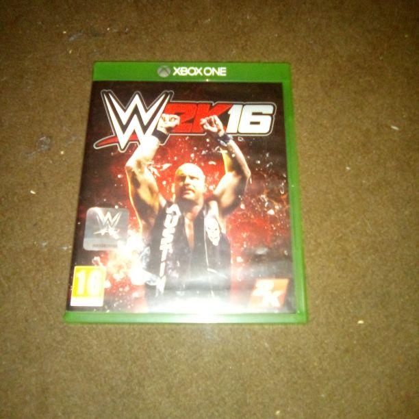 Xbox one wwe 2k16