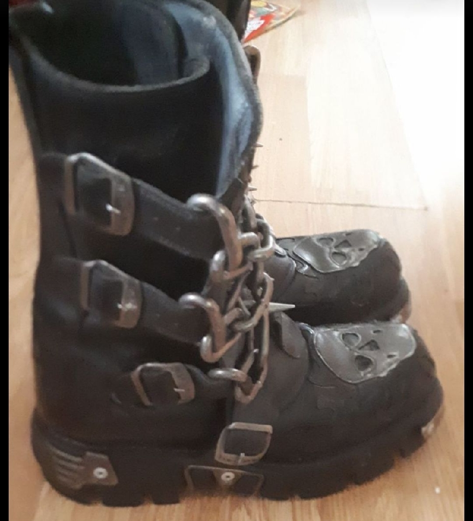 New Rock leather boots