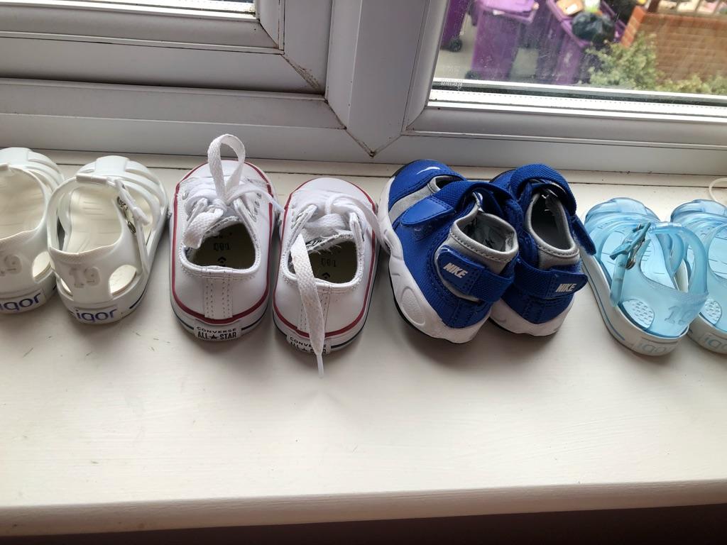 Baby boy shoe bundle size 3