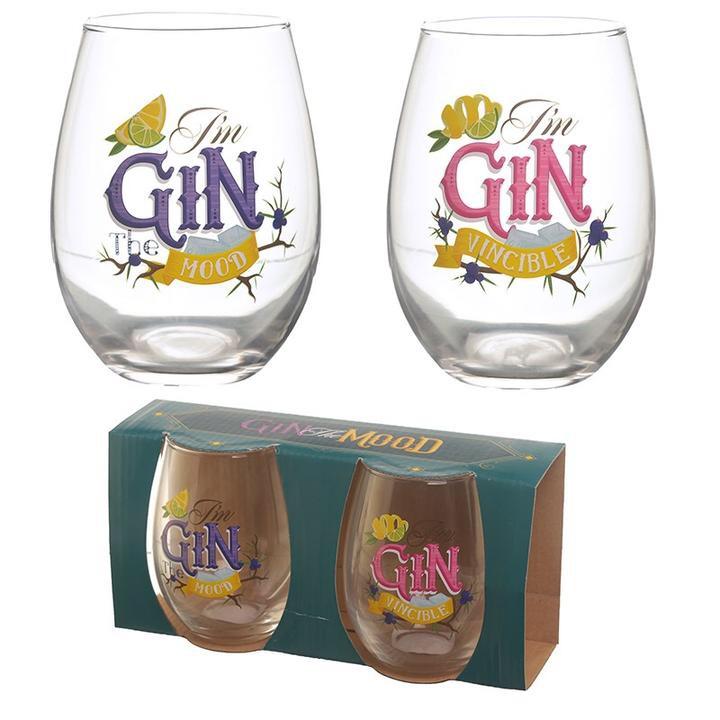 Set of 2 gin glasses