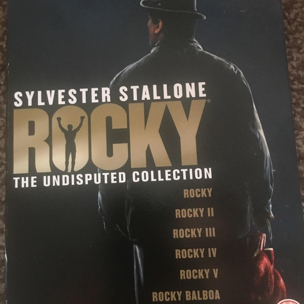 Rocky box set DVDs