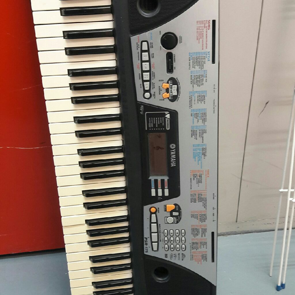 psr 175 yamaha keyboard