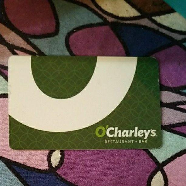 $25 O'Charley's gift card
