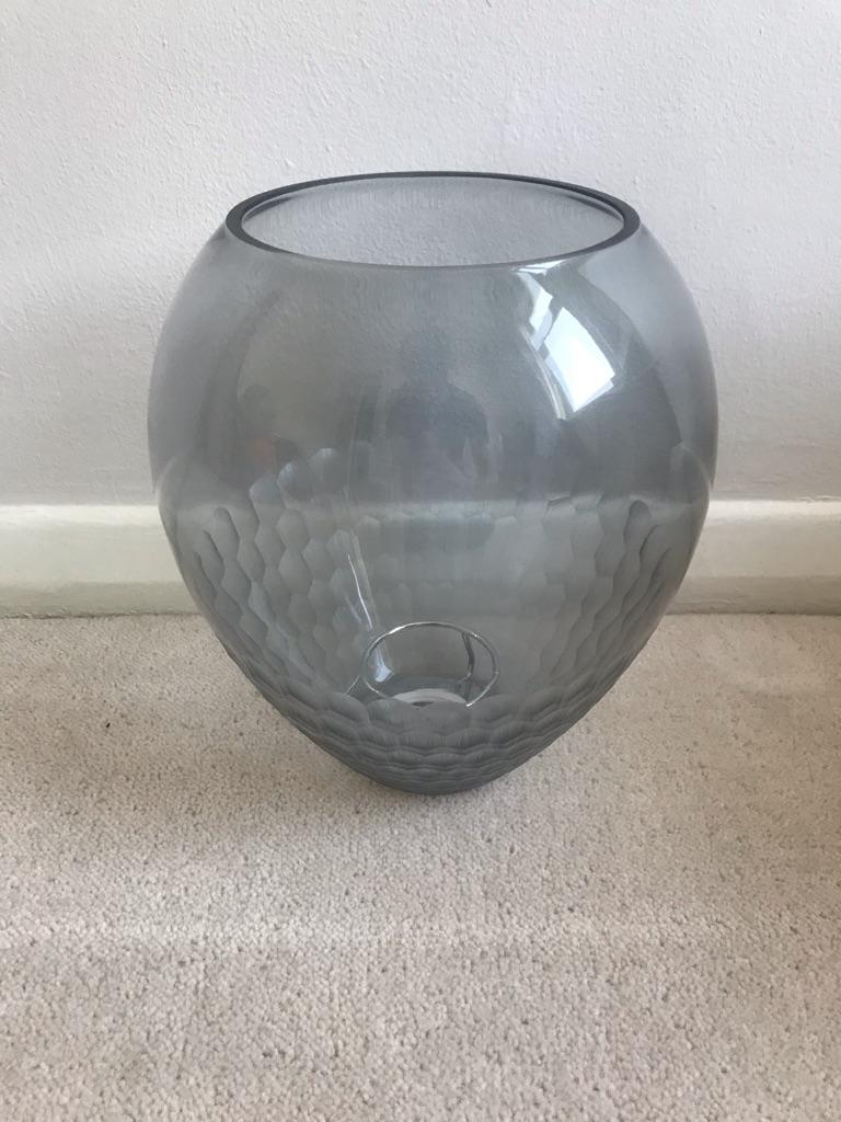 Smoke Glass Pendant Shade (Dunelm)