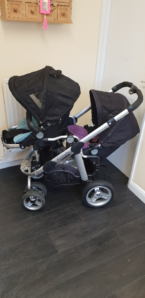 Icandy Pear double buggy / pushchair / stroller