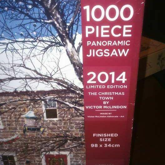 Panoramic jigsaw puzzle