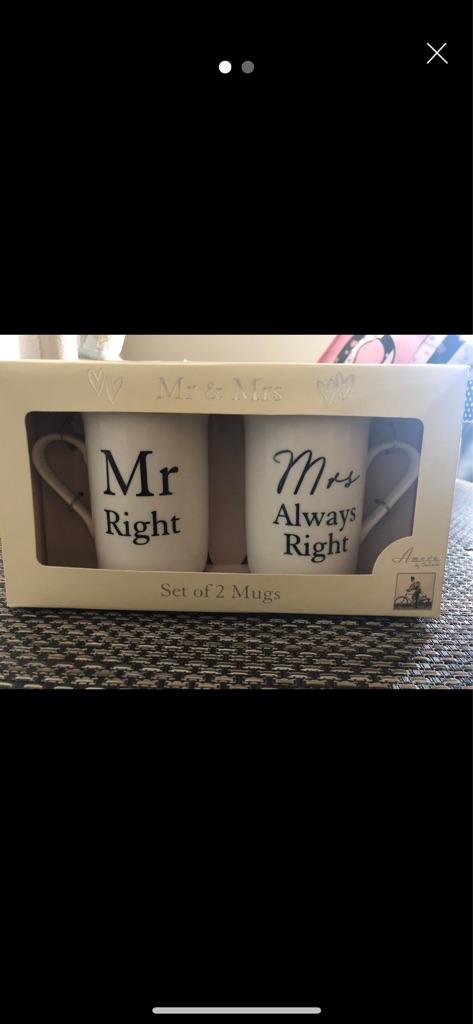 NEW MR & MRS Mug