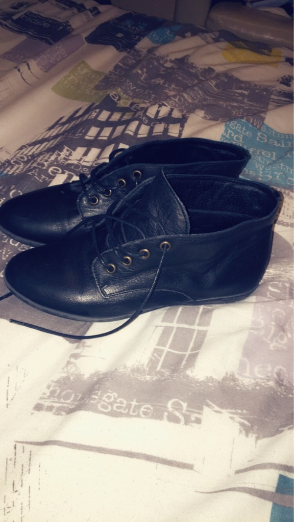 OFFICE Flat Leather Shoes