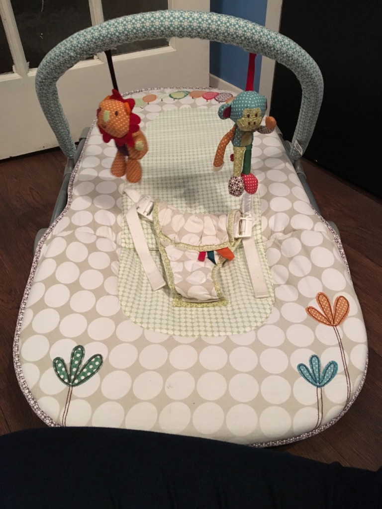 Mamas and papas bounce chair