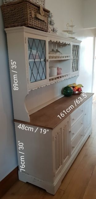 Vintage/Shabby Chic Kitchen Dresser