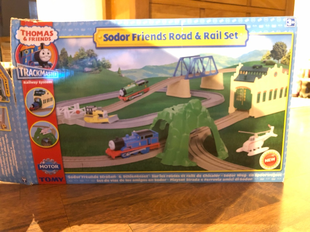 Thomas and Friends Sodor Friends Rail and Road Set