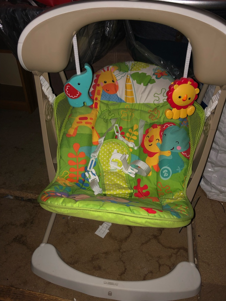 Fisher price rain forest swing chair