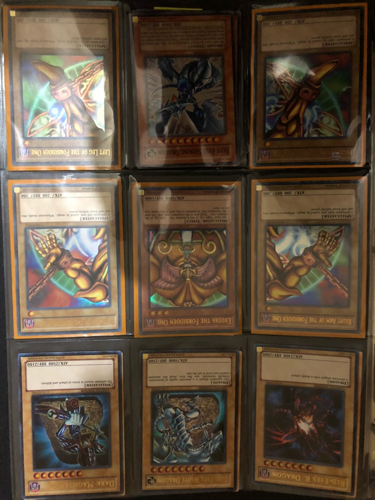YU GI OH CARDS HOLLOGRAPHIC PERFECT CONDITION