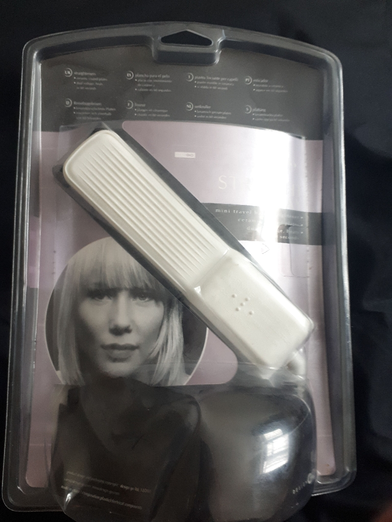 Brand New mini travel hair straightener
