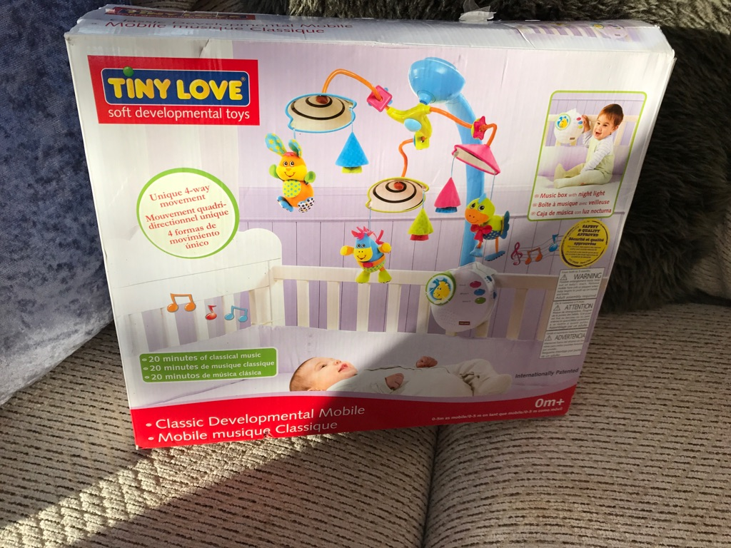 tiny love classic developmental mobile instructions