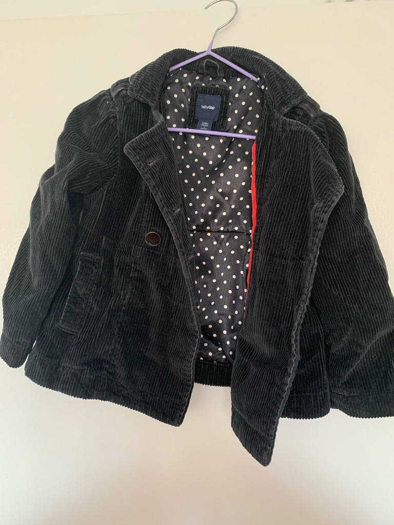 Black Gap Kids Jacket