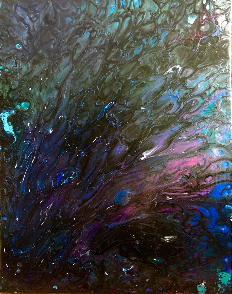 Original Acrylic Artwork 40x50cm