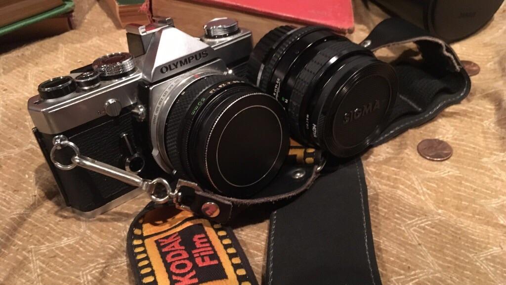 Olympus om 1 35 mm camera
