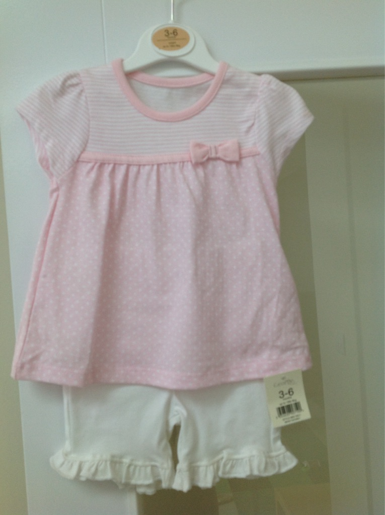 Summer outfit for 3-6m little girl
