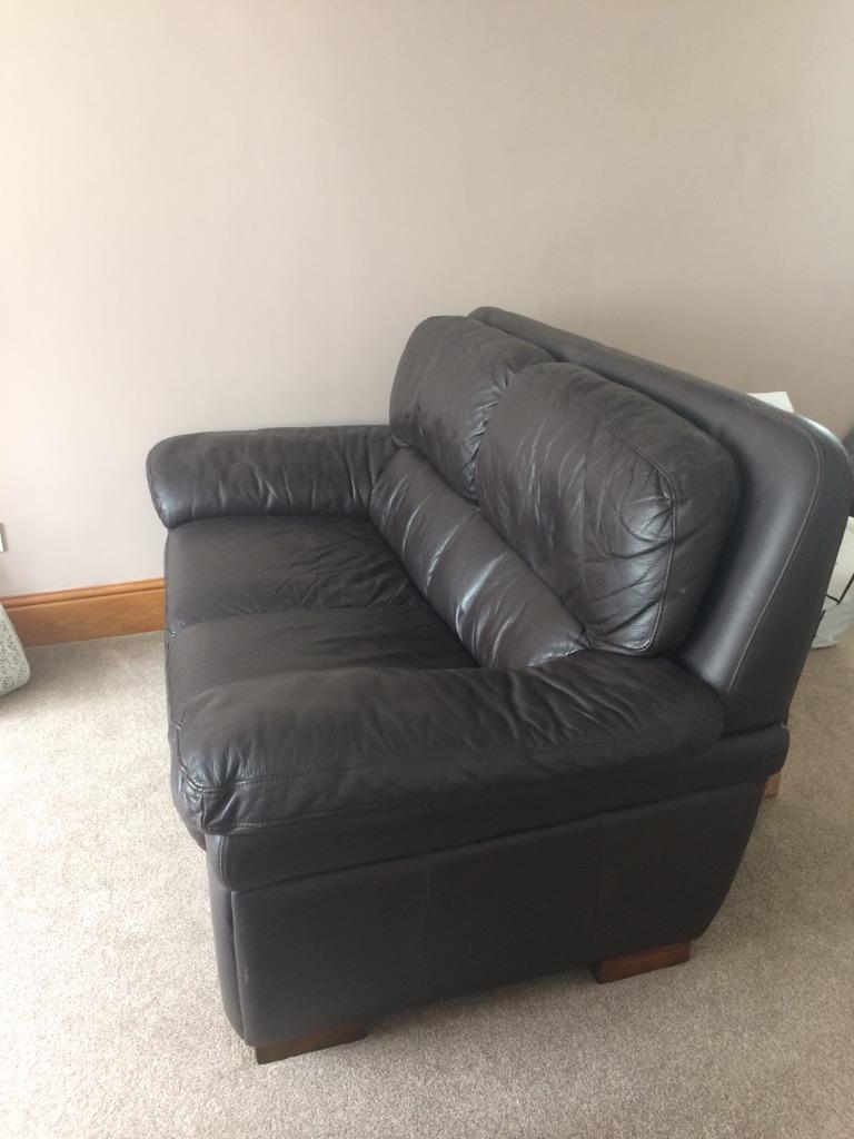 Large comfy sofa x2