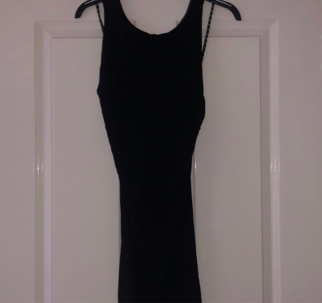Missguided ladies black bodycon dress