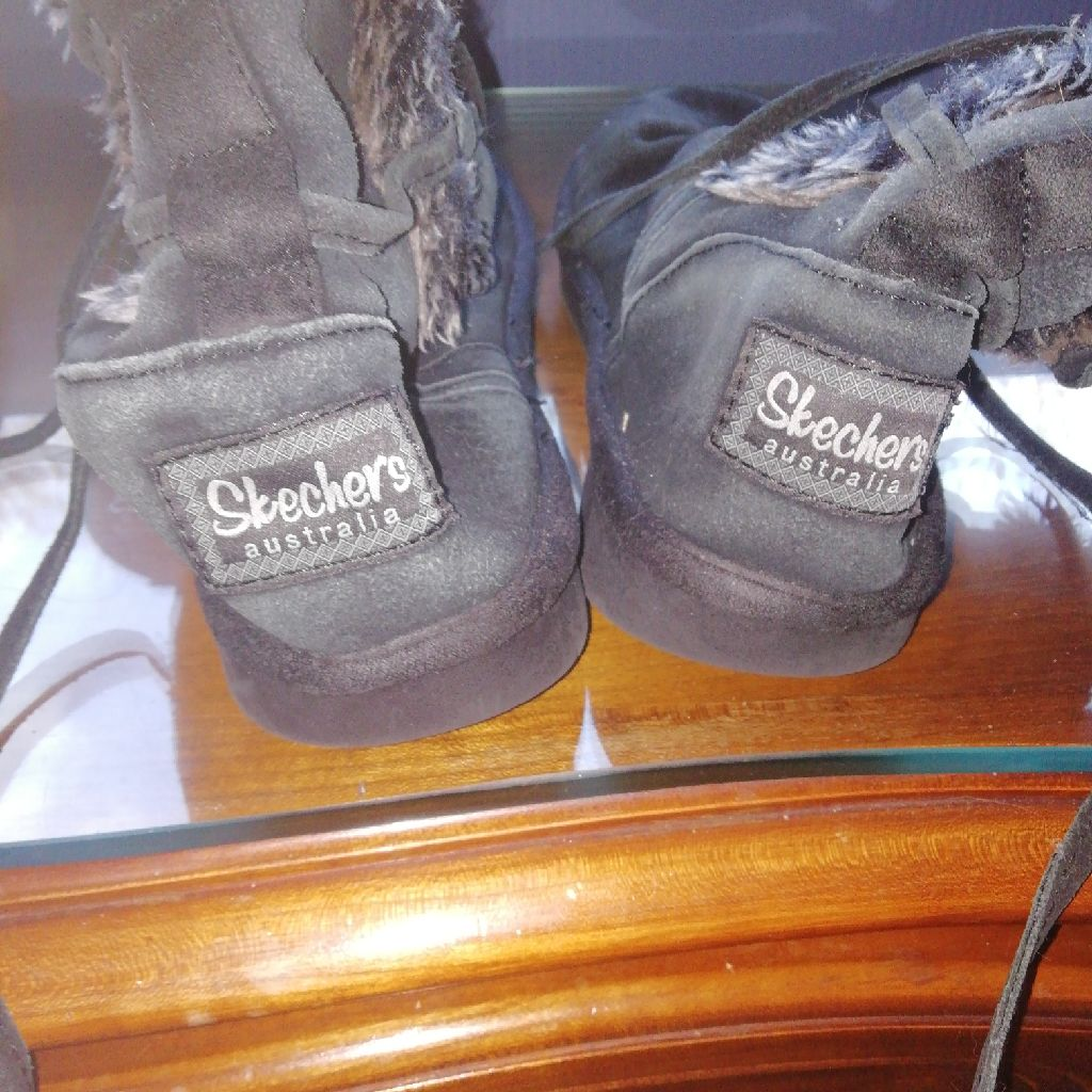 Genuine Skechers boots