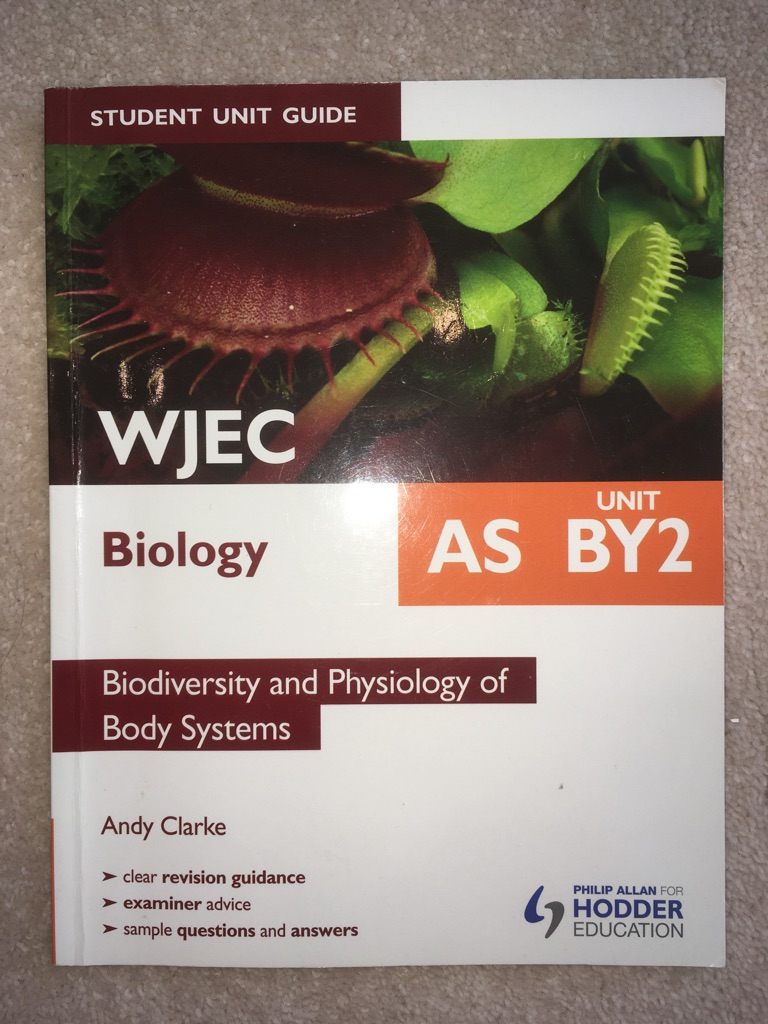 WJEC Biology AS BY2
