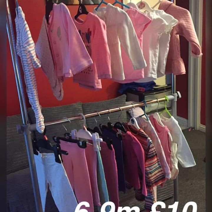 Girls bundle 6-9m