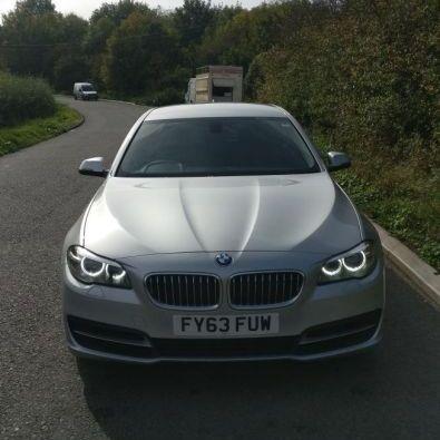 BMW 520d SE 63 plates (11.2013)